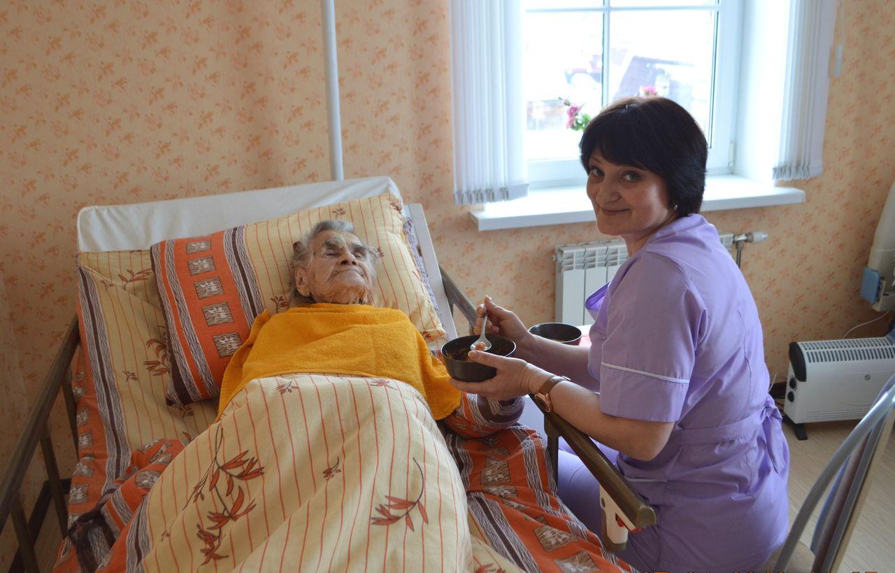 пансионат для лежачих больных